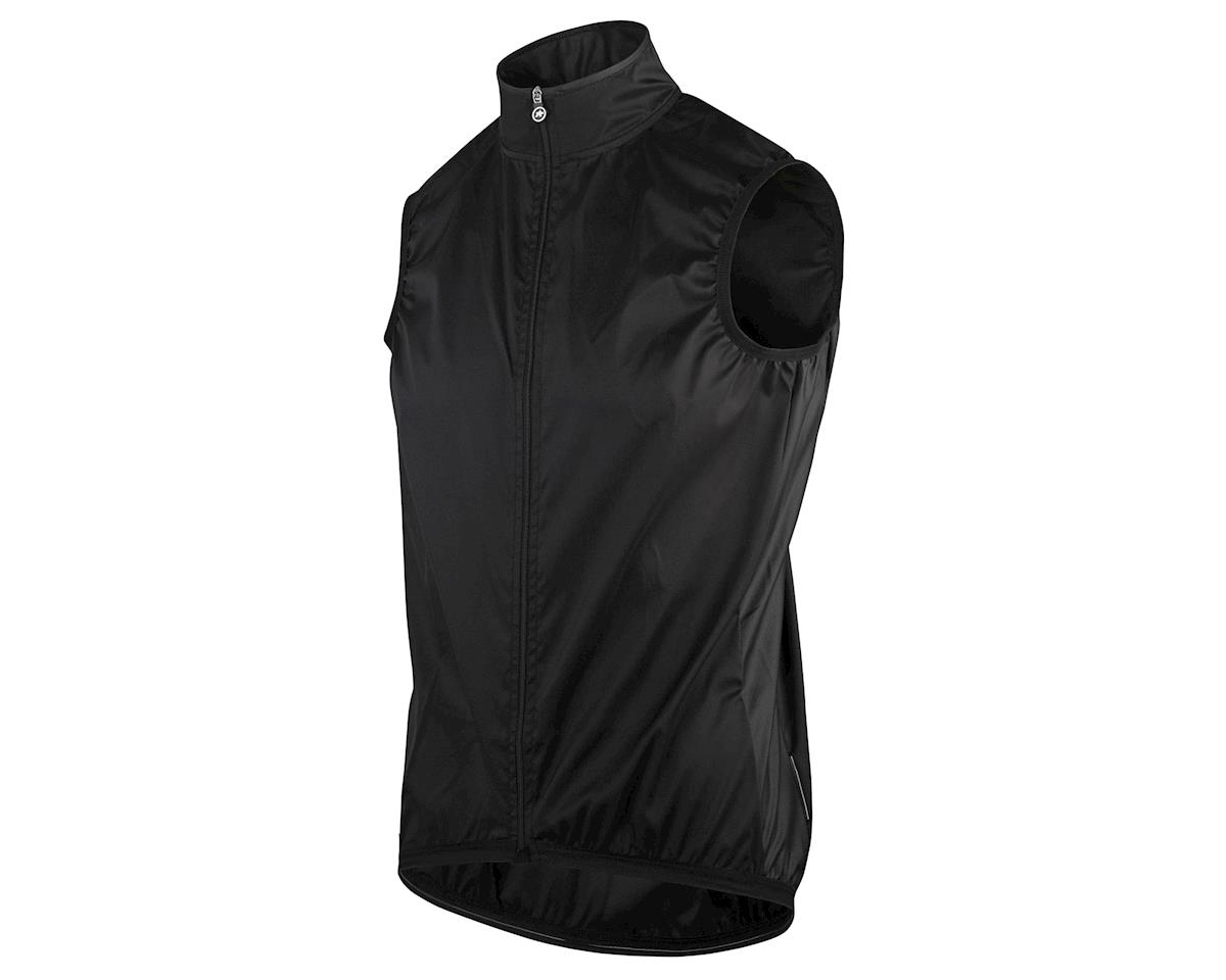 Assos Mille GT Men's Wind Vest (Black Series)