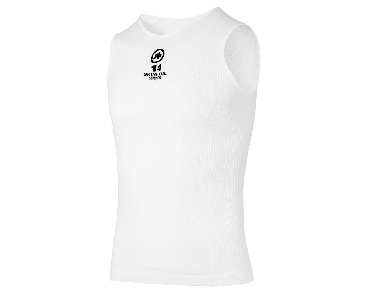 Assos NS.skinFoil evo7 Men's Sleeveless Summer Baselayer (Holywhite) (S/M)