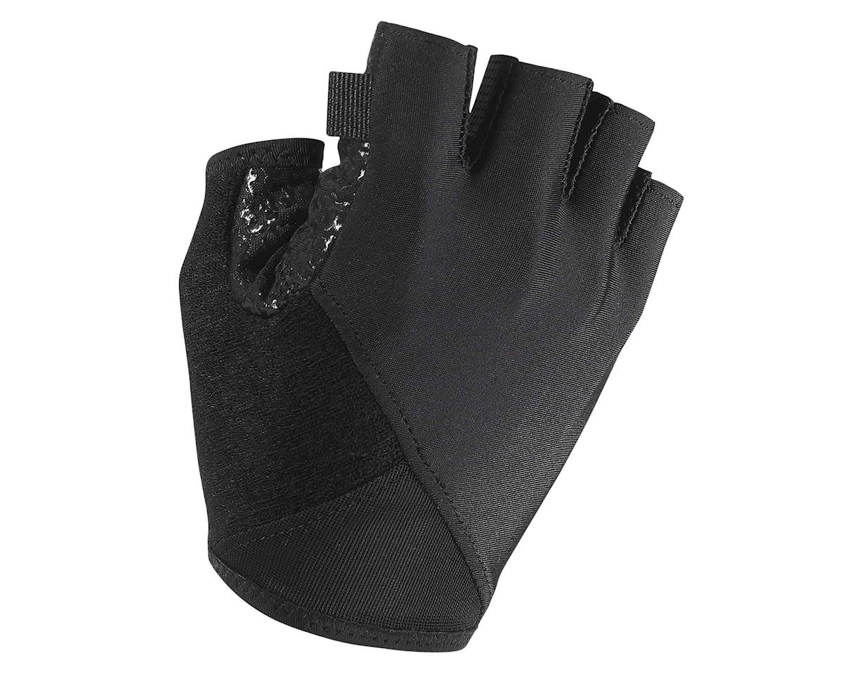 Assos summerGloves s7 (Black Volkanga) (XLG)