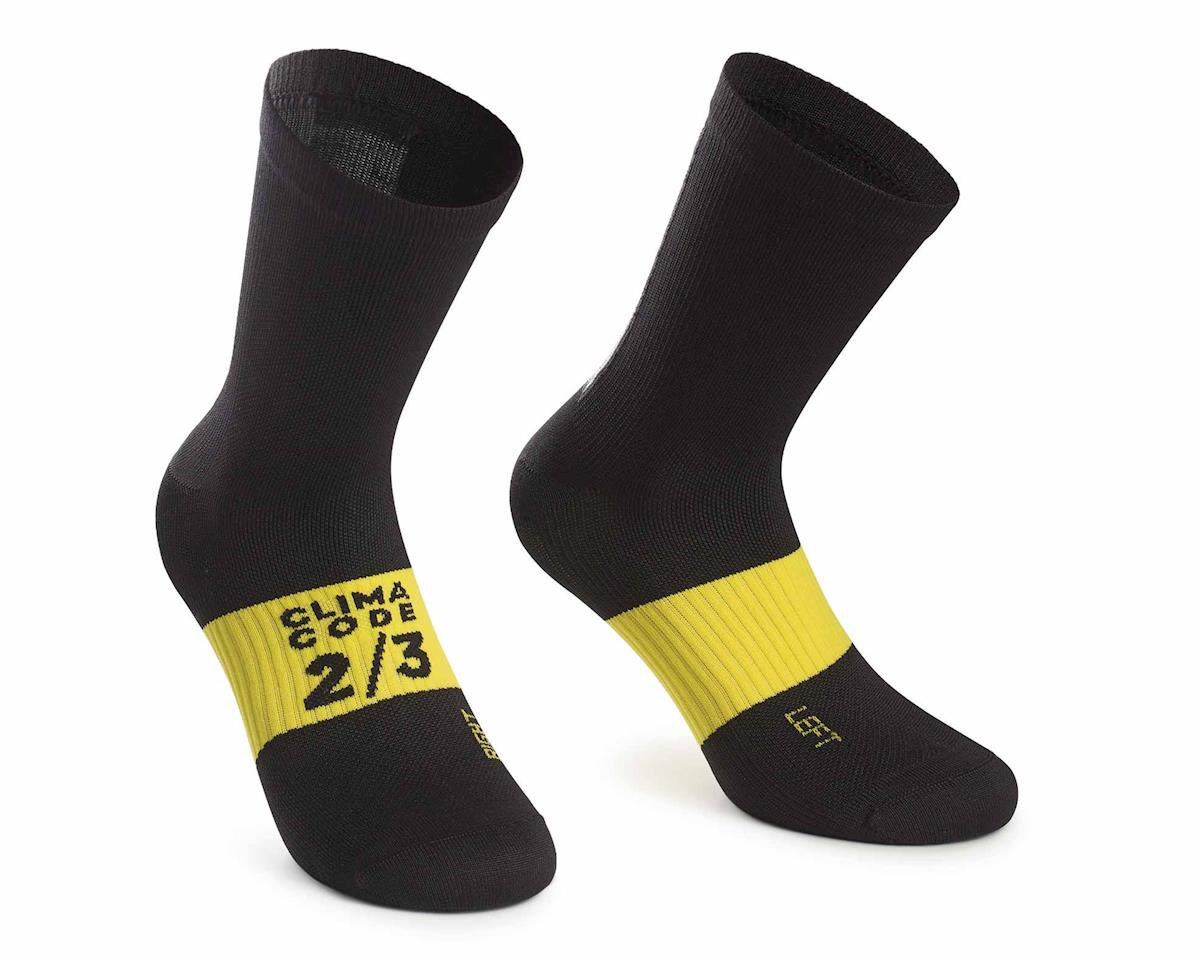 Assos ASSOSOIRES Spring/Fall Sock (BlackSeries) (M)