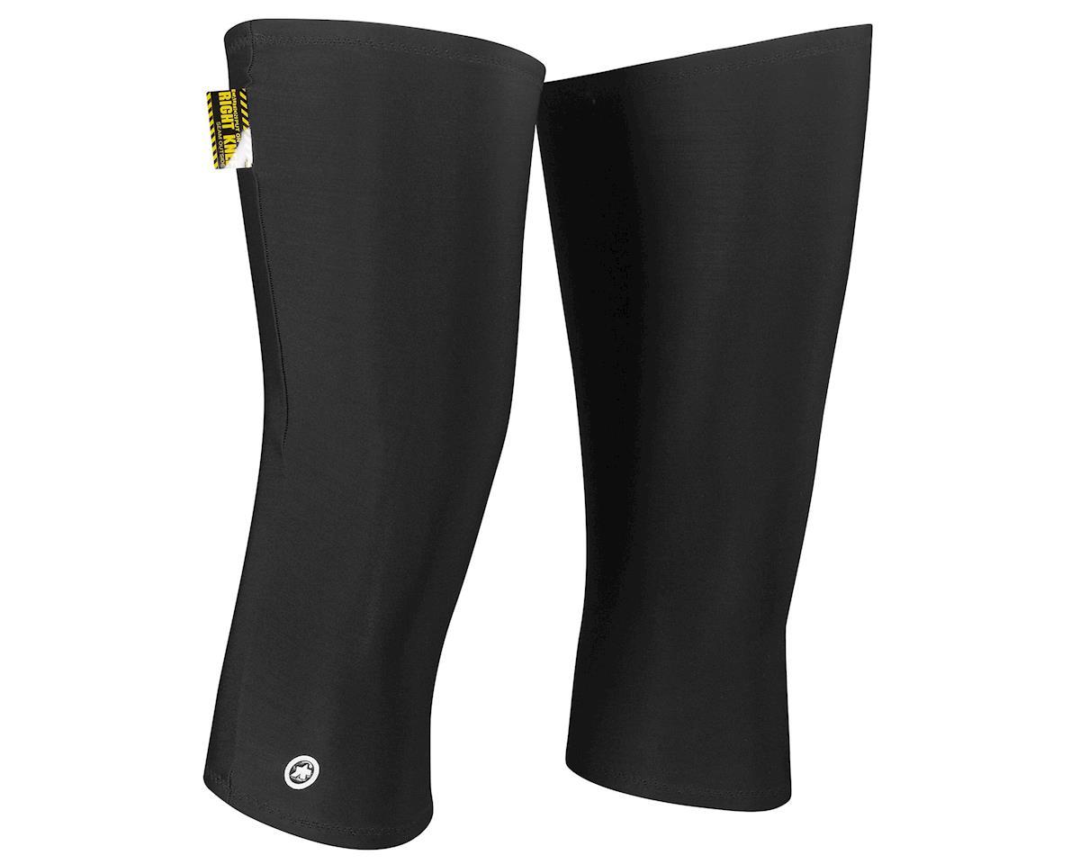 Assos kneeWarmers evo7 (Block Black) (M/L)