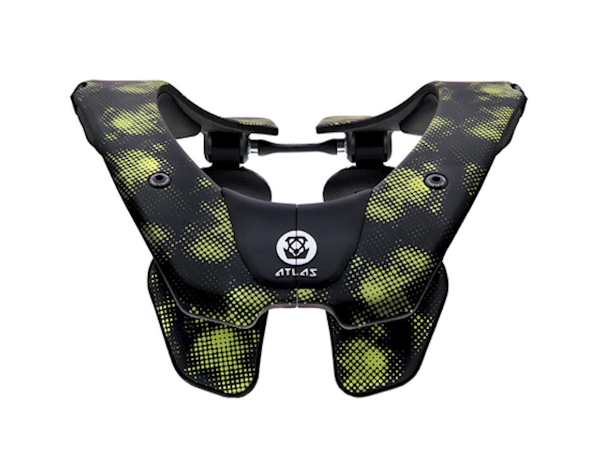 Atlas Neck Braces Air Neck Brace (Virus Black/Green)