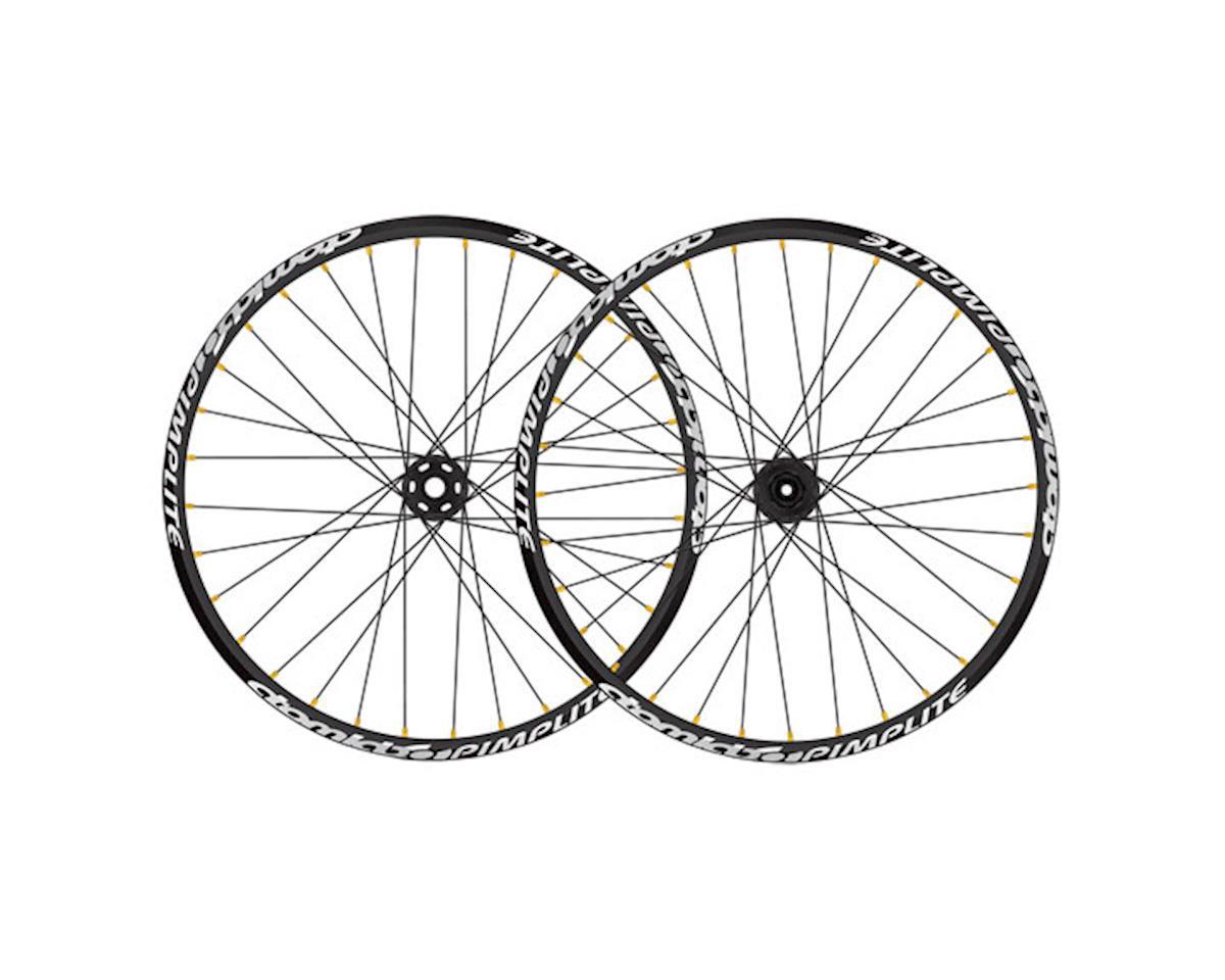Pimplite front wheel, 20x110 32h - black