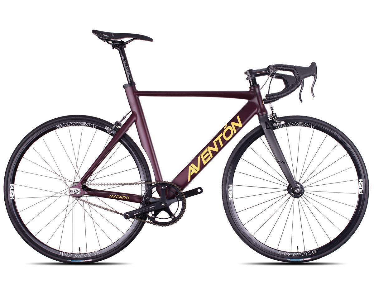 Aventon 2016 Mataro Complete Track Bike (Burgundy) (52cm)