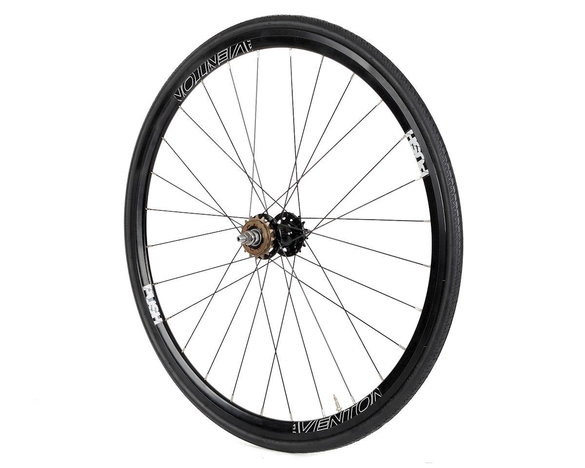 PUSH Rear Wheel (Black) (Dual Sided Fixed/Freewheeel)