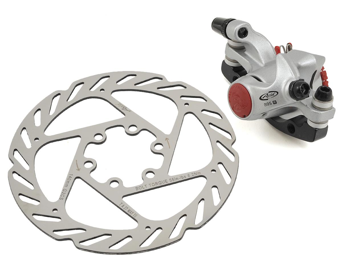 Avid BB5 Road Disc Brake Caliper w/140mm G2 Rotor (Rear)