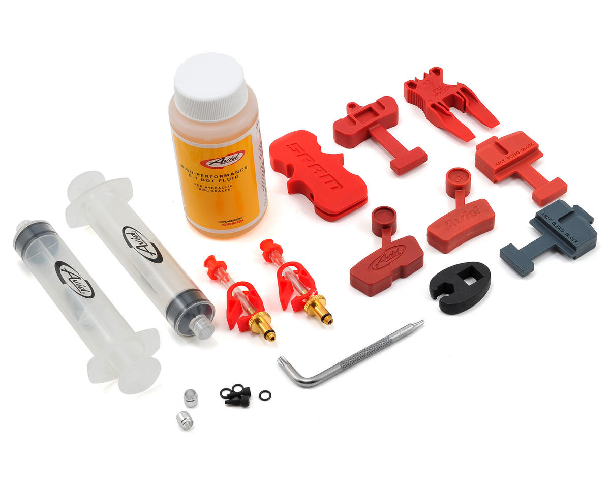 Hydraulic Bleed Kit w/4oz. of 5.1 Dot Fluid