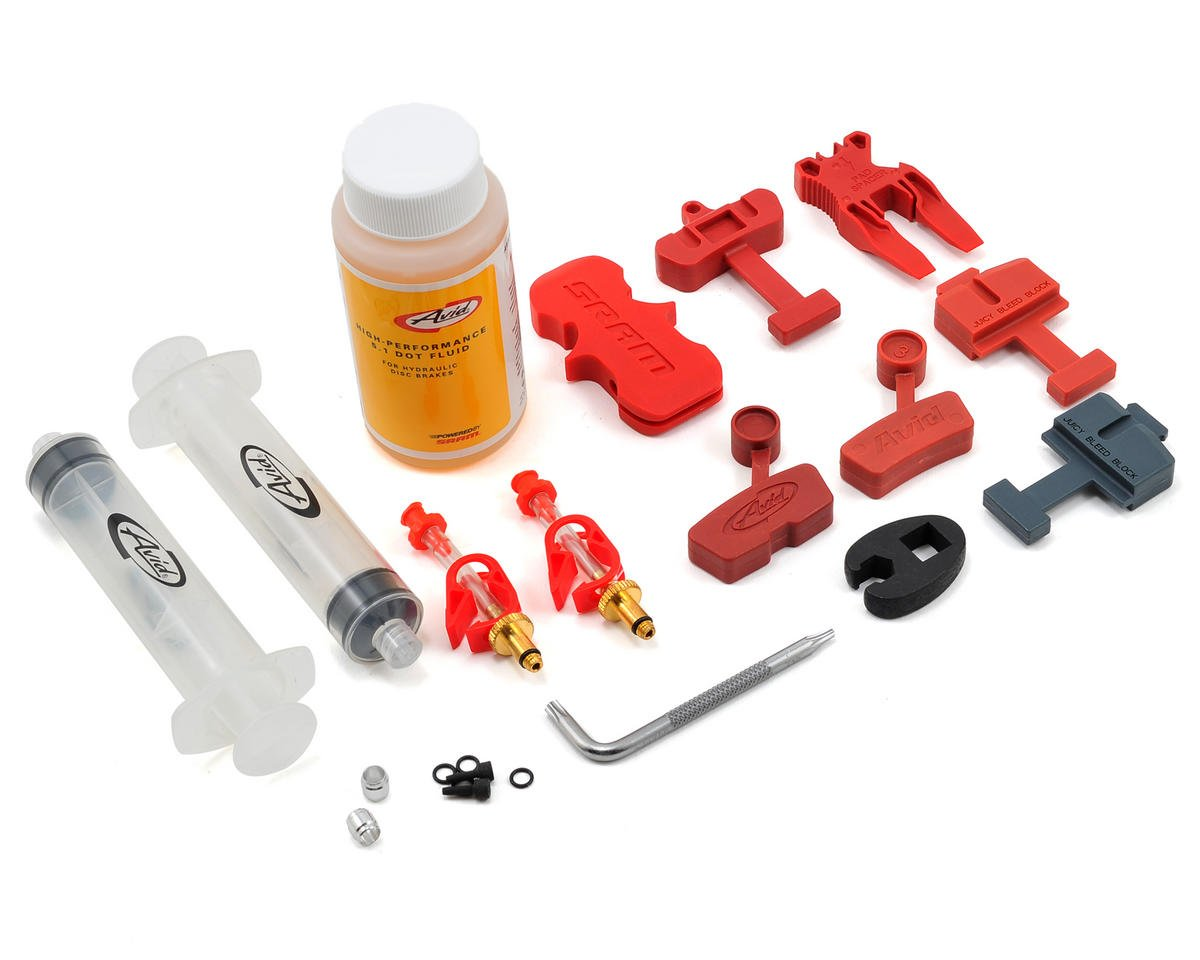 Avid Hydraulic Bleed Kit w/4oz. of 5.1 Dot Fluid