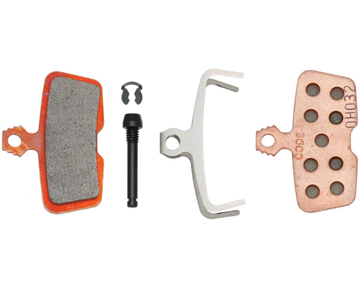 SRAM Code Disc Brake Pads Metal Sintered Compound Steel Plate 00.5315.023.010