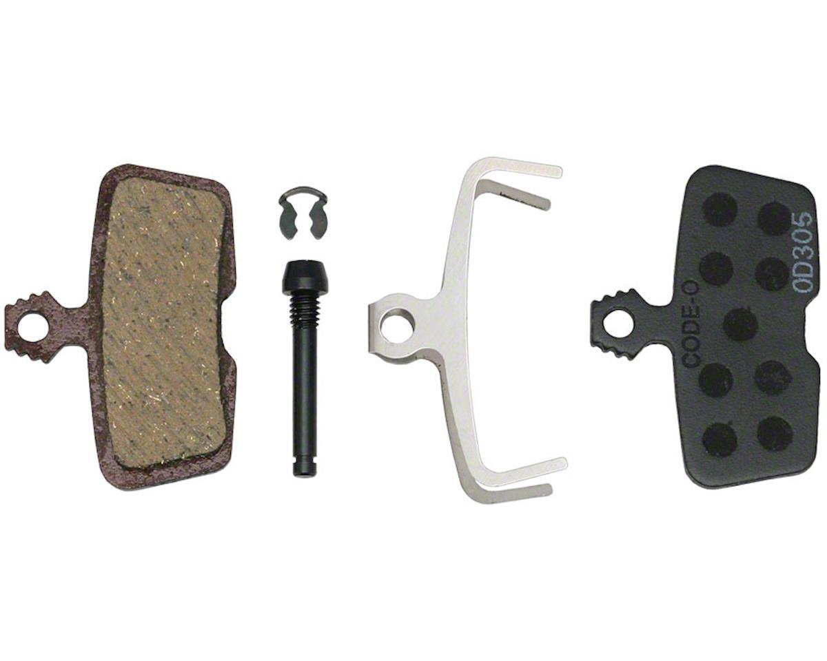 Avid SRAM/Avid Code, Code RSC, Code R, Guide RE Organic Disc Brake Pad, Steel Back, P