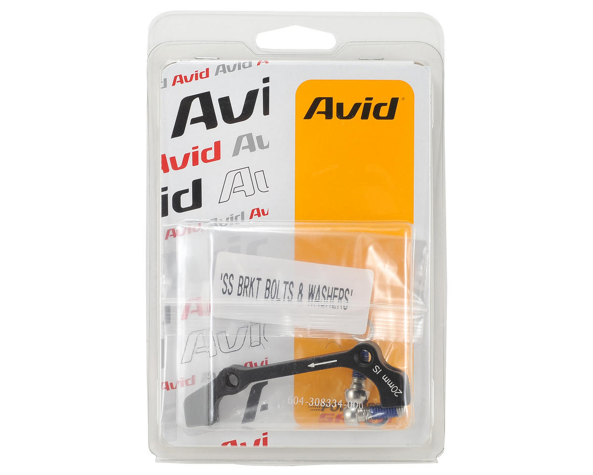 Avid Disc 20mm IS Adapter (180mm Front & 160mm Rear)