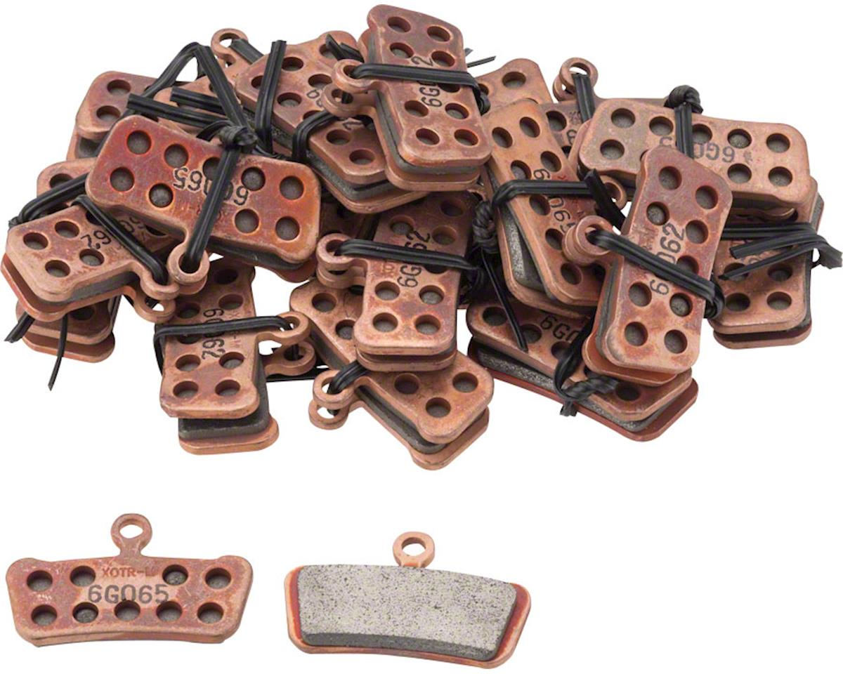 Steel Backed SRAM Guide and Avid Trail Disc Brake Pads Sintered Compound