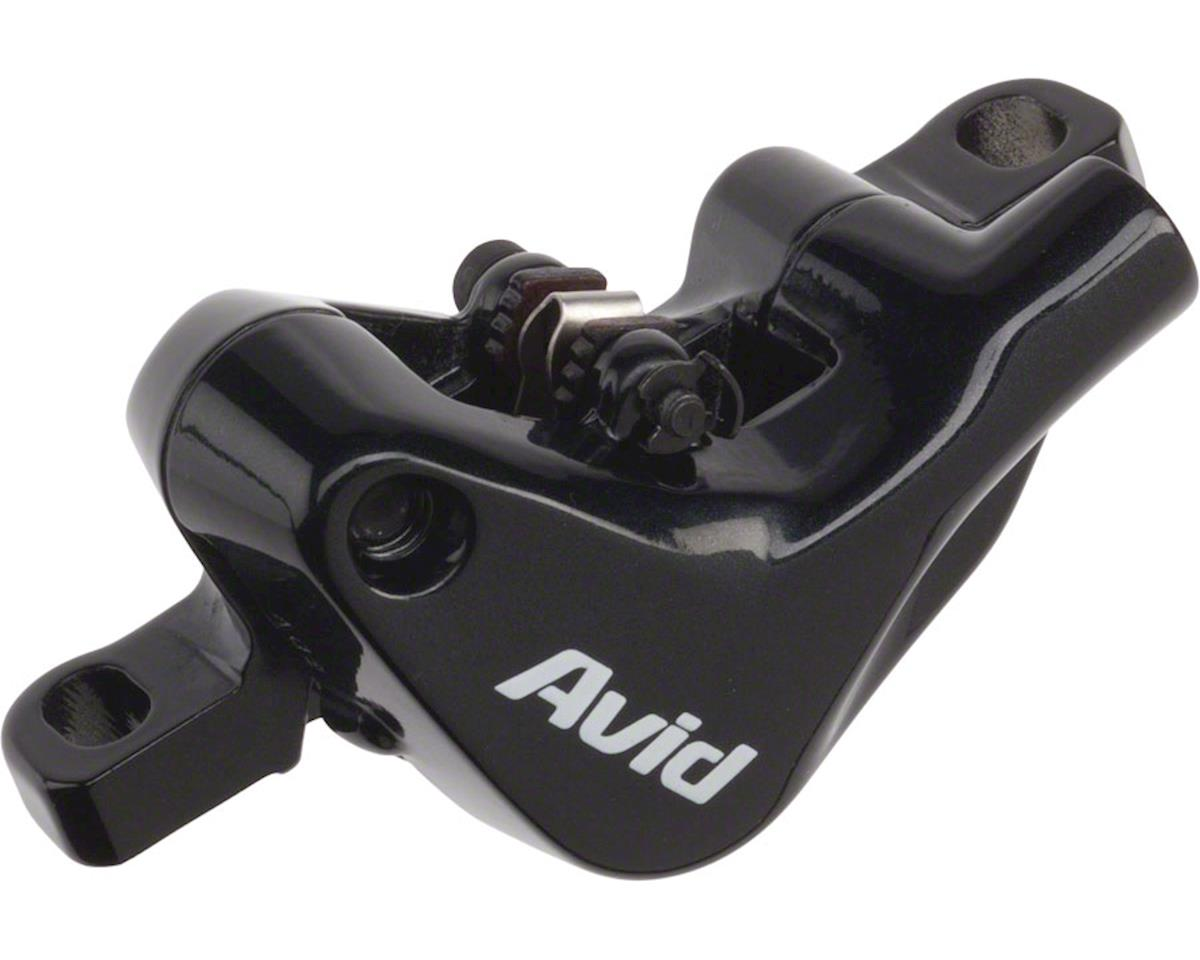 Avid Elixir 5 Complete Caliper Assembly High Hose Routing Black