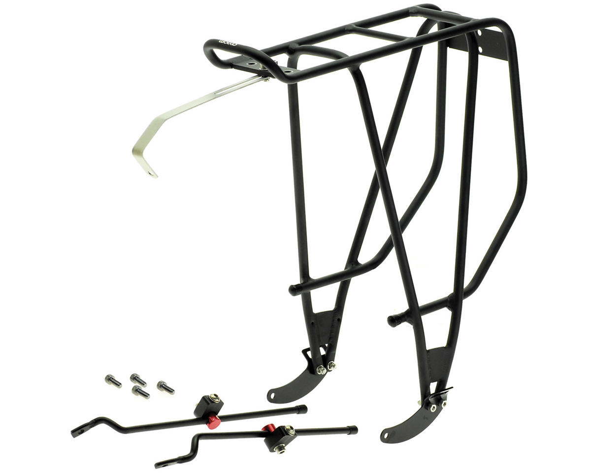 Axiom Streamliner Disc DLX Rear Bike Rack (Black)