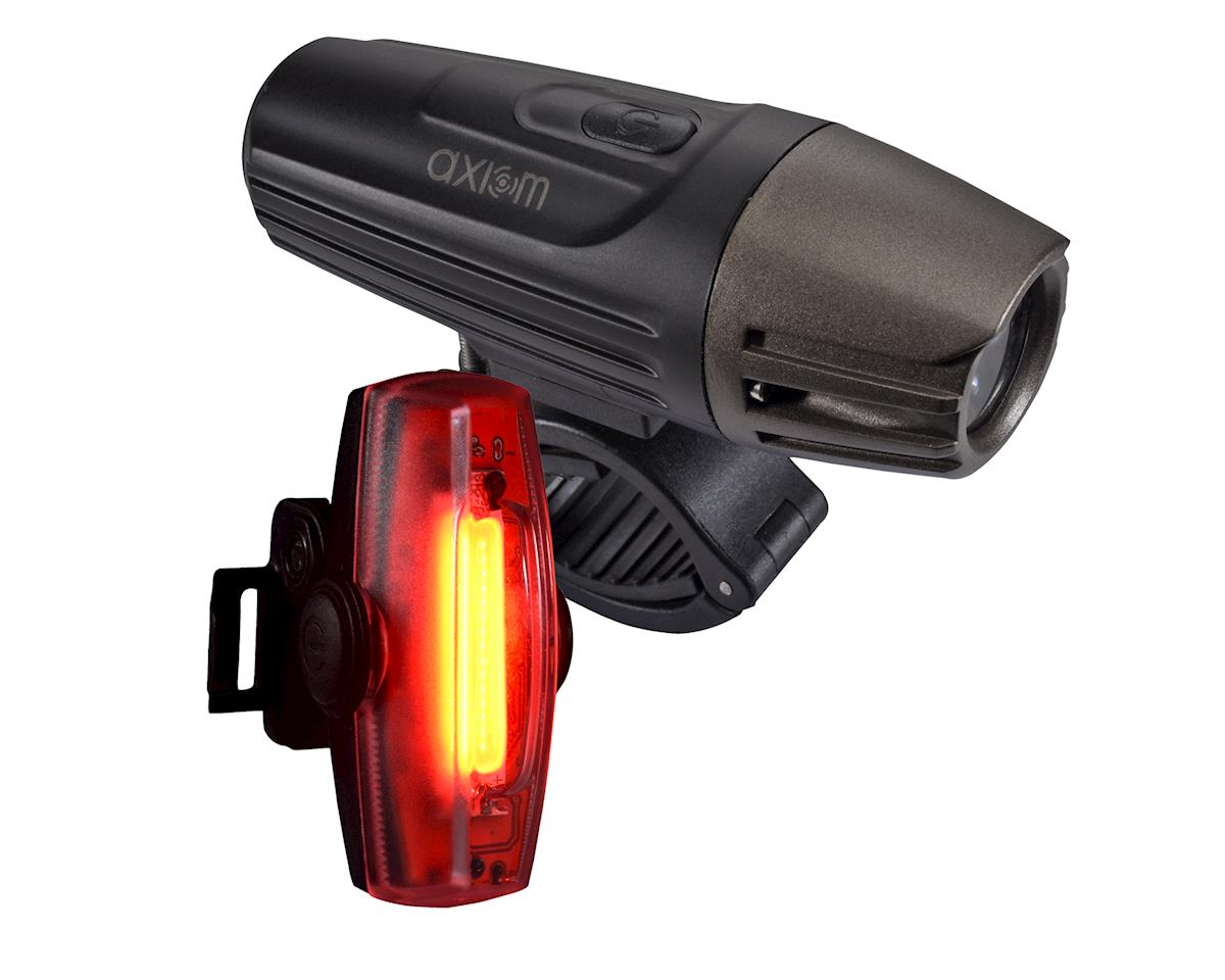 Axiom Lights Lazer 500 LED Headlight & Pulse 30 Tail Light Combo
