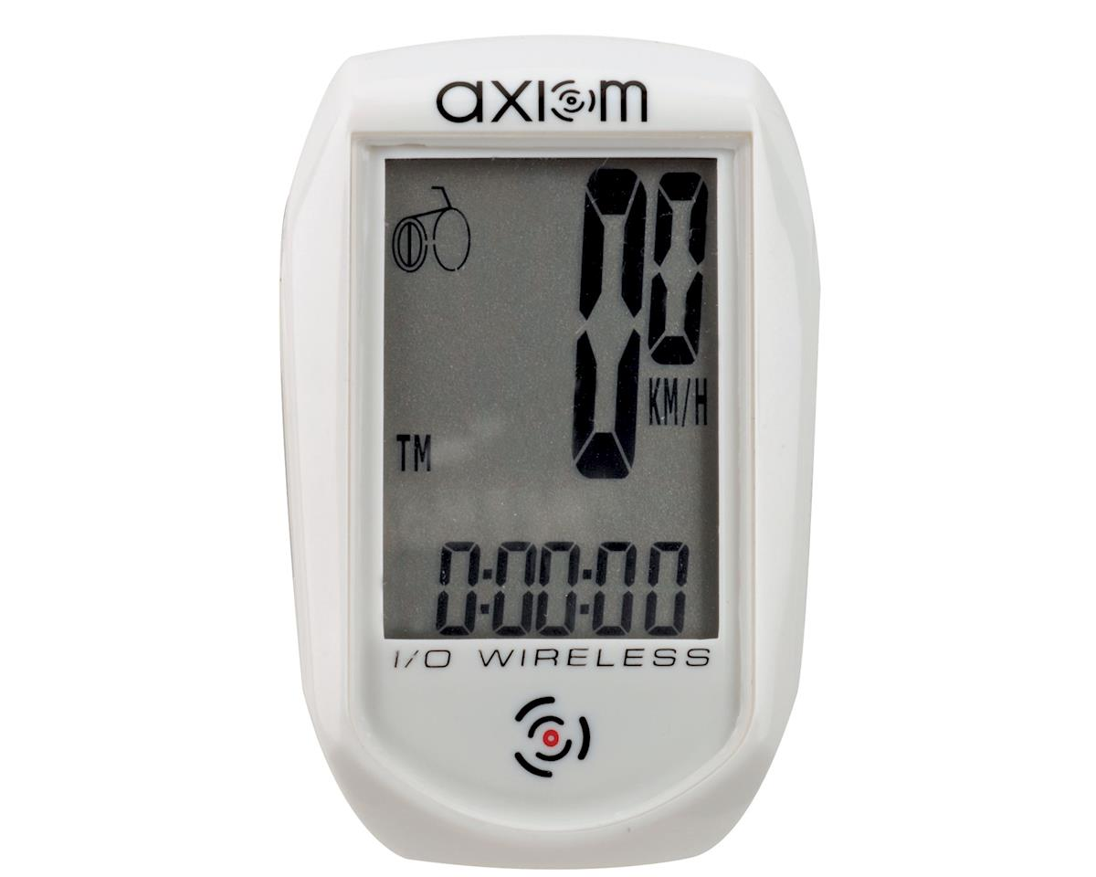 Axiom IO Wireless Cyclocomputer (White)