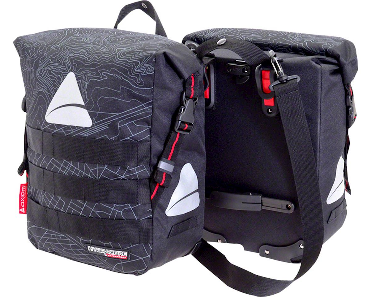 Axiom Monsoon Hydracore 45+ Panniers (Gray)