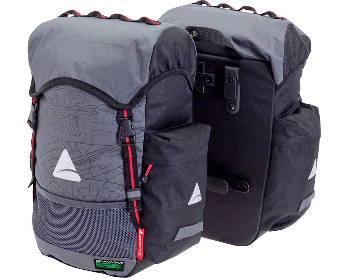 Axiom Seymour Oceanweave P35+ Panniers (Gray/Black)