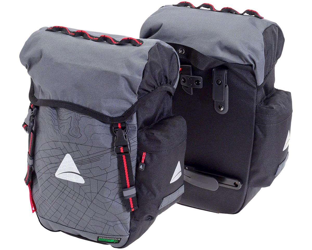 Axiom Seymour Oceanweave 22+ Panniers (Gray/Black)