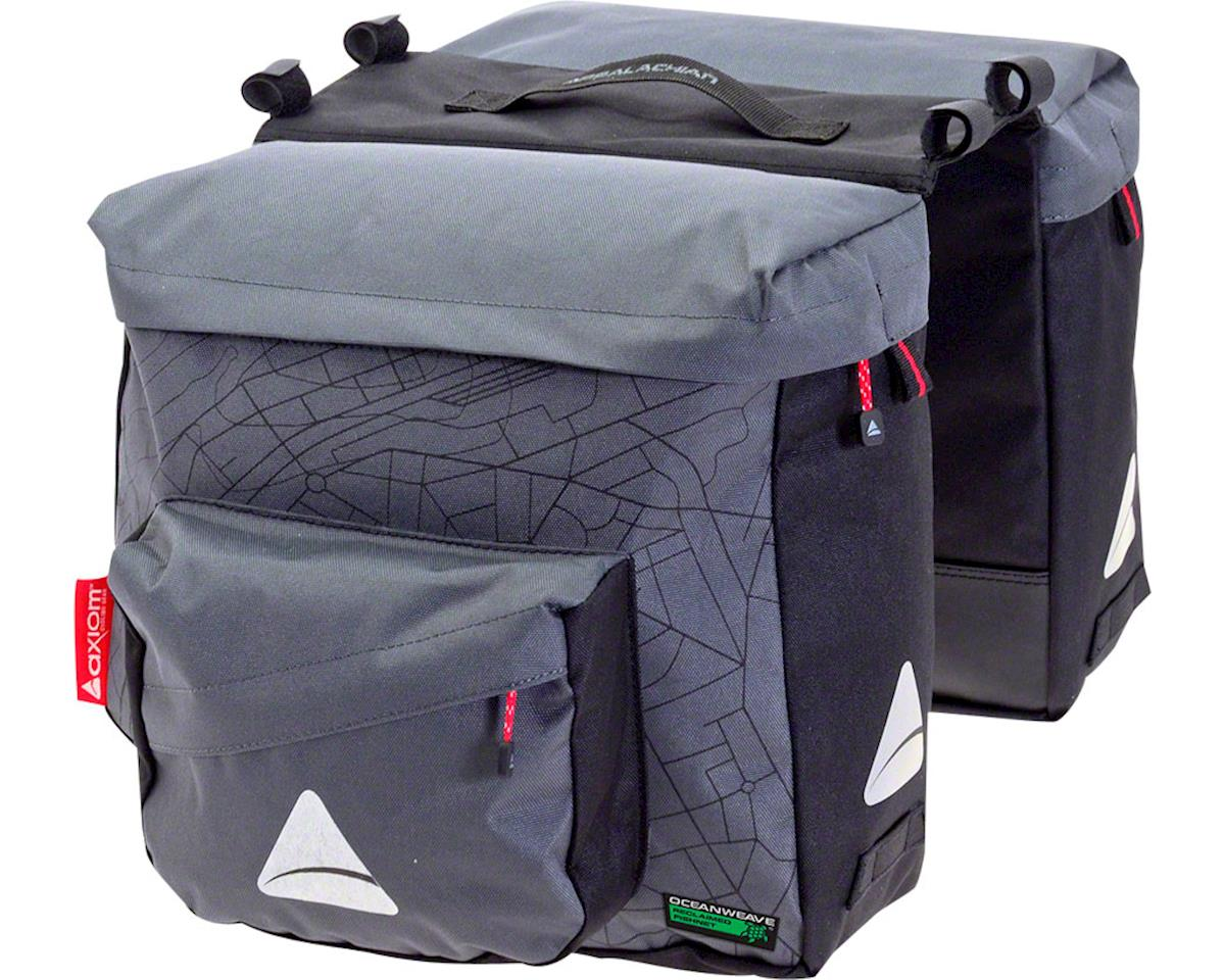 Axiom Seymour Oceanweave P25 Panniers: Gray/Black