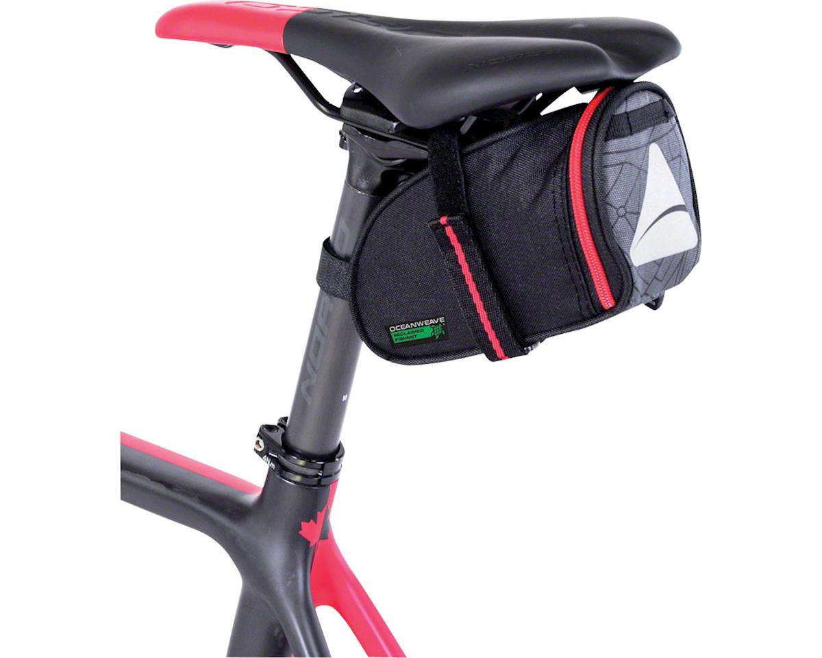 Axiom Seymour Oceanweave Wedge 0.8 Saddle Bag (Black)