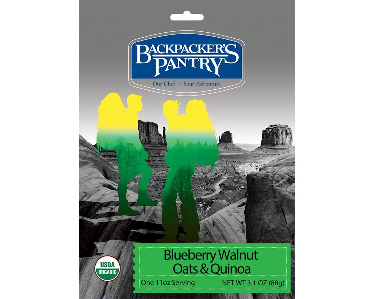 Backpacker's Pantry Organic Blueberry Walnut Oats and Quinoa: 1 Serving