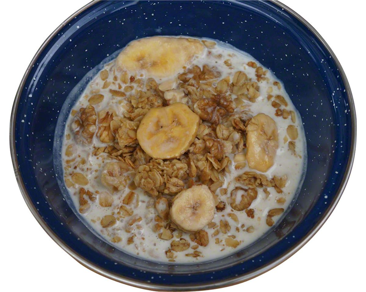 Backpacker's Pantry Granola with Bananas and Milk: 2 Servings