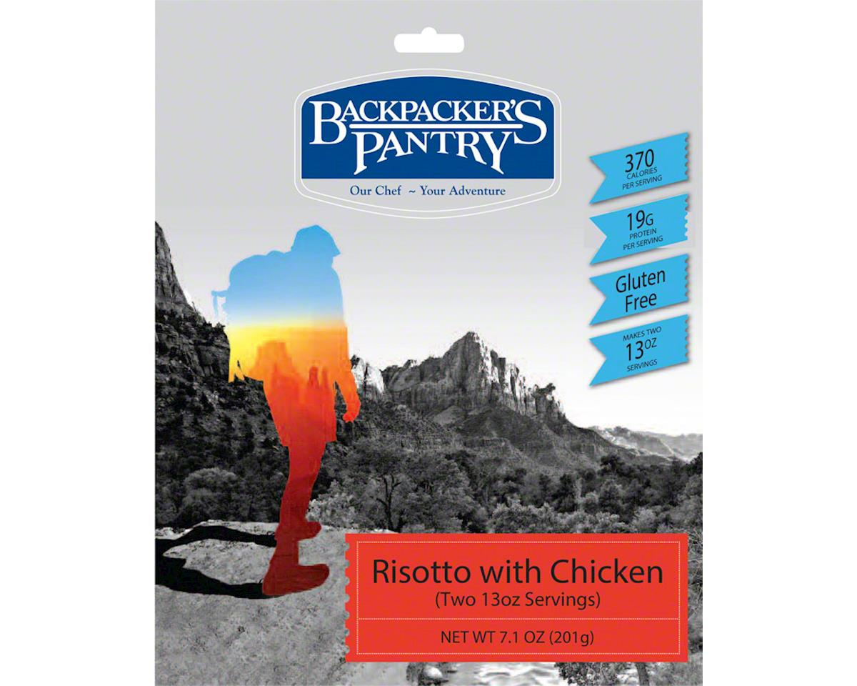 Backpacker's Pantry Risotto with Chicken: 2 Servings