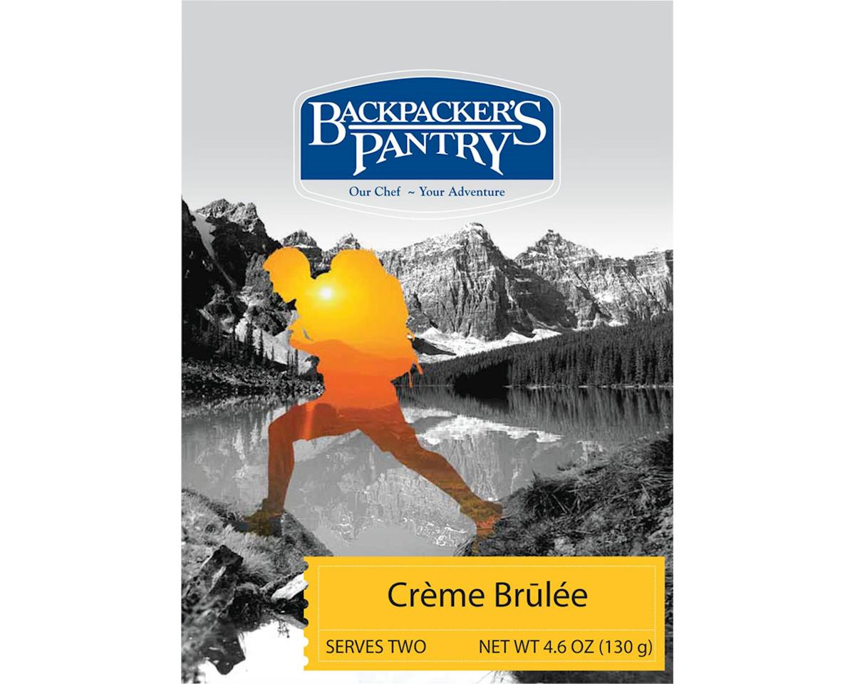 Backpacker's Pantry Creme Brulee: 2 Servings