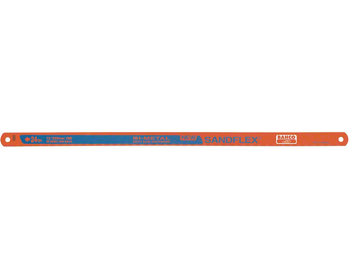 "Bahco 12"" Bimetal Hacksaw Blade: 24 TPI, 5-Pack"