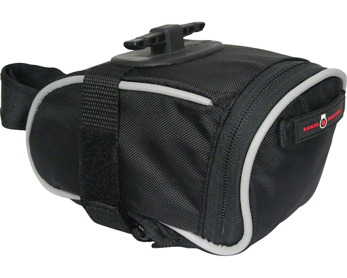 Banjo Brothers Quick Release Seat Bag: Black MD