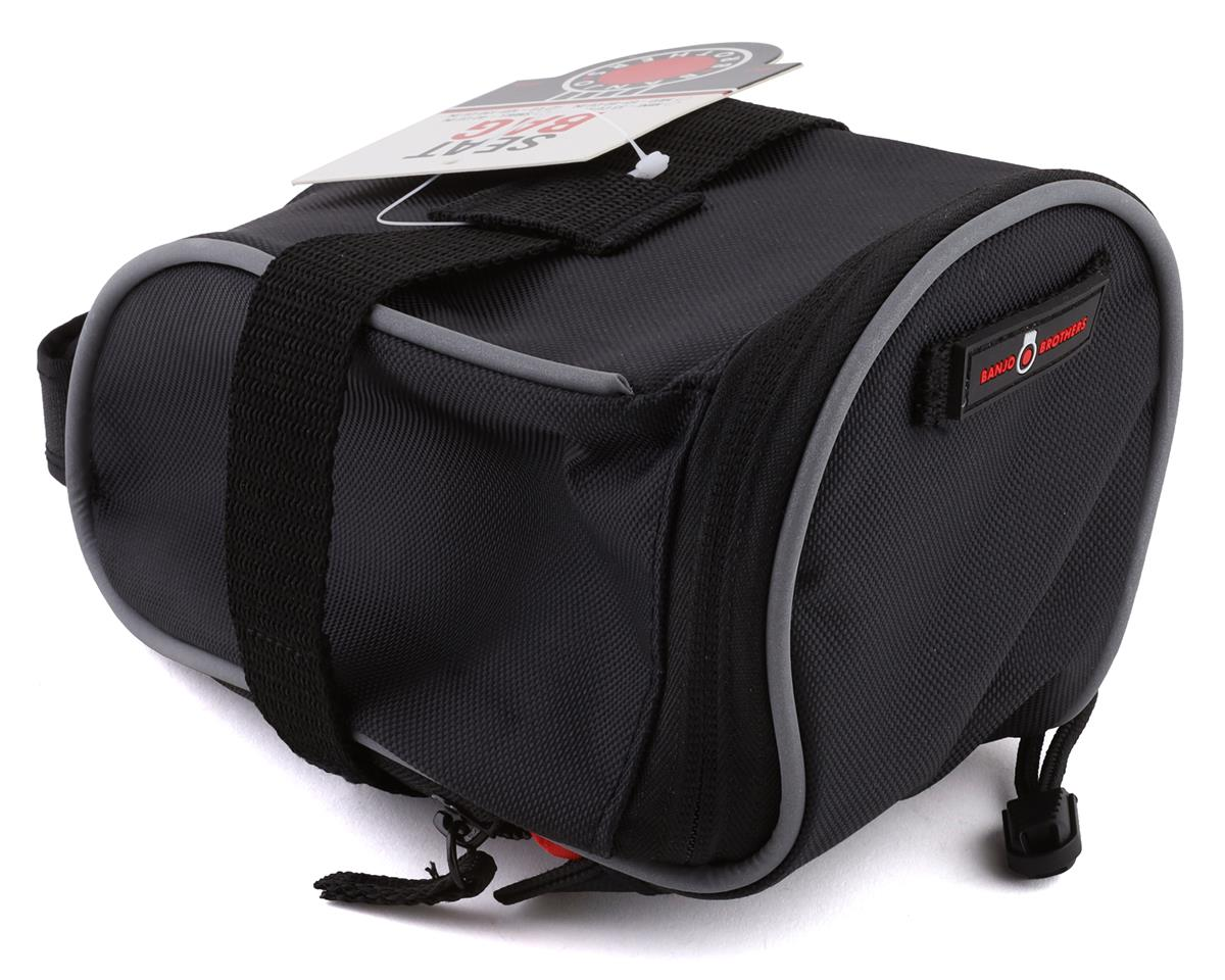 Banjo Brothers Seat Bag (Black) (L)