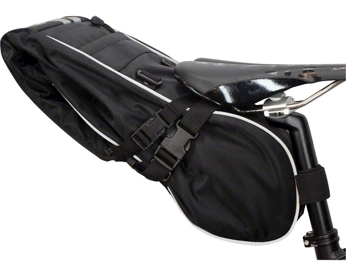 Banjo Brothers Waterproof Saddle Trunk: Black, XL