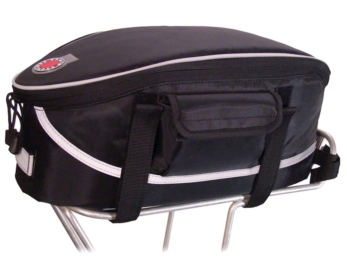 Banjo Brothers Rack Top Bag: Black