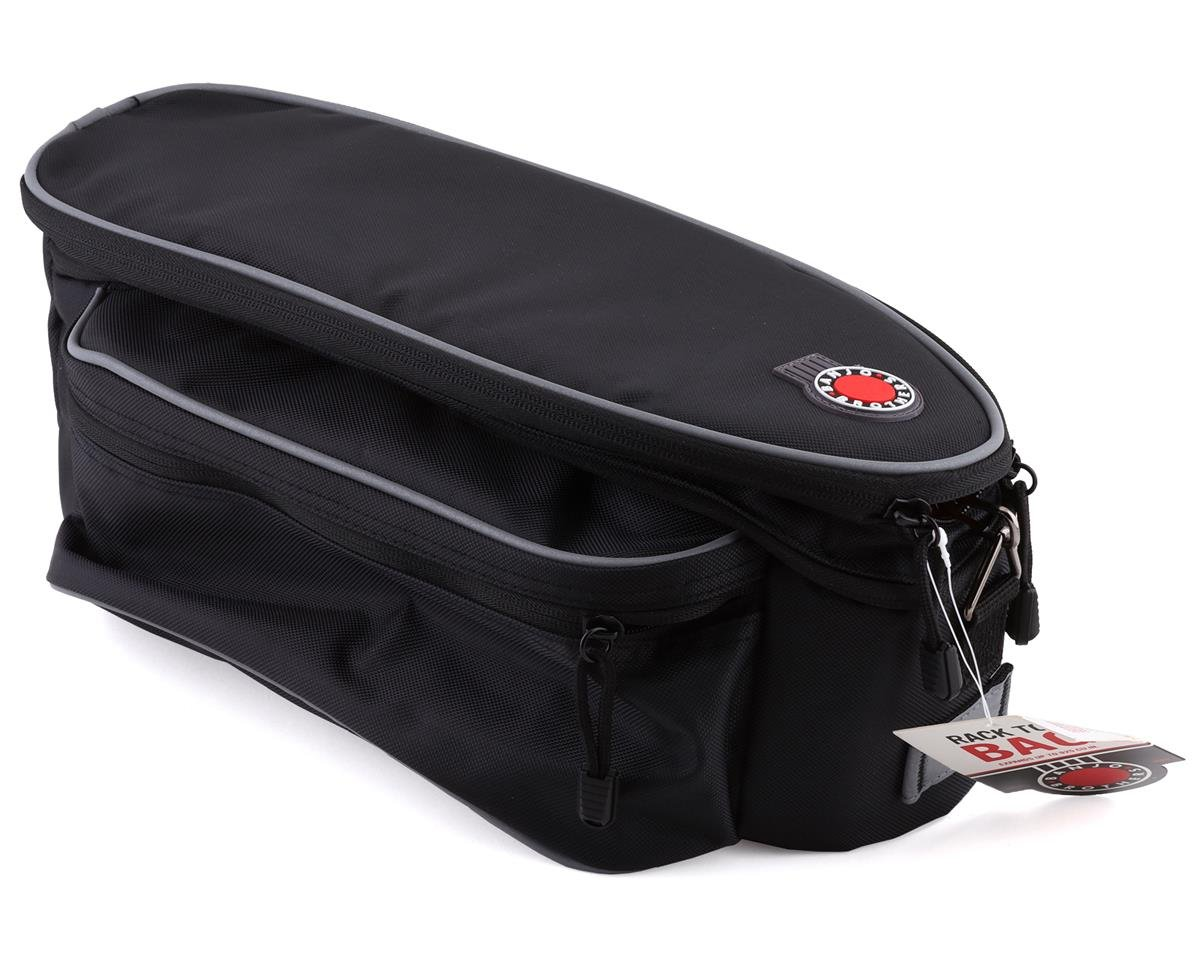 Banjo Brothers Expanding Rack Top Bag (Black)
