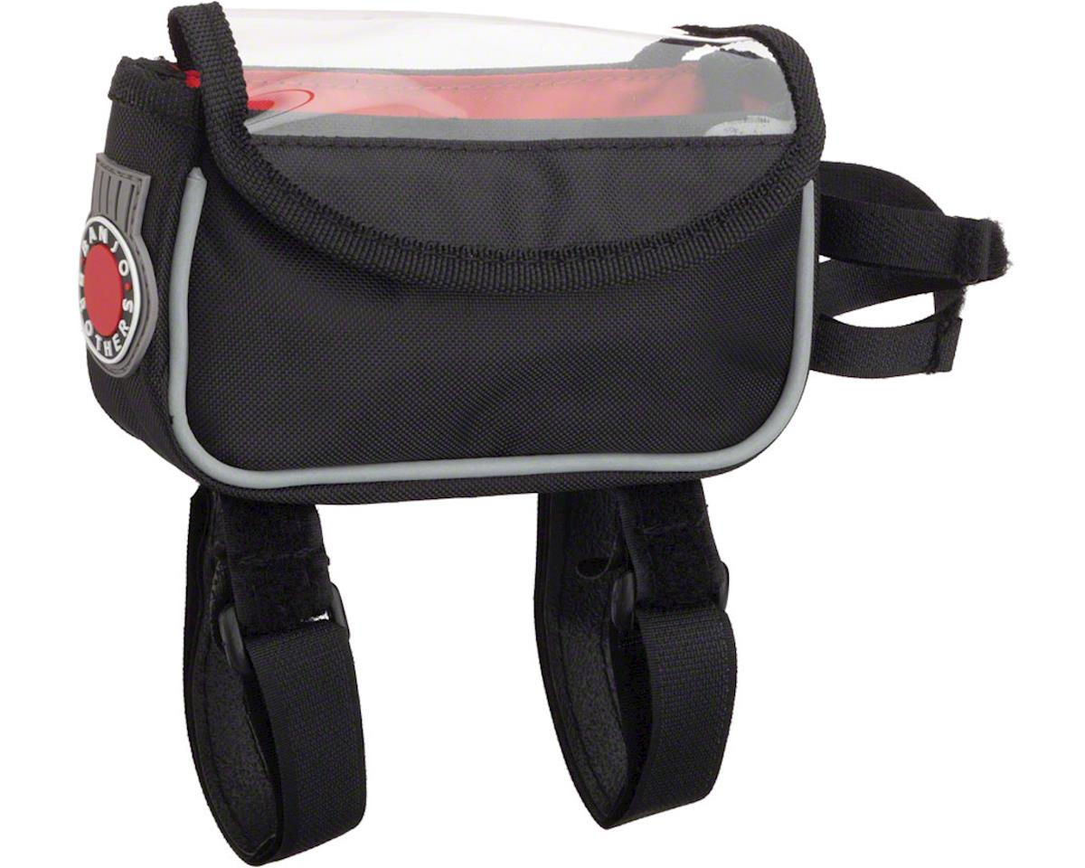 Banjo Brothers Top Tube & Stem Bag (Black)
