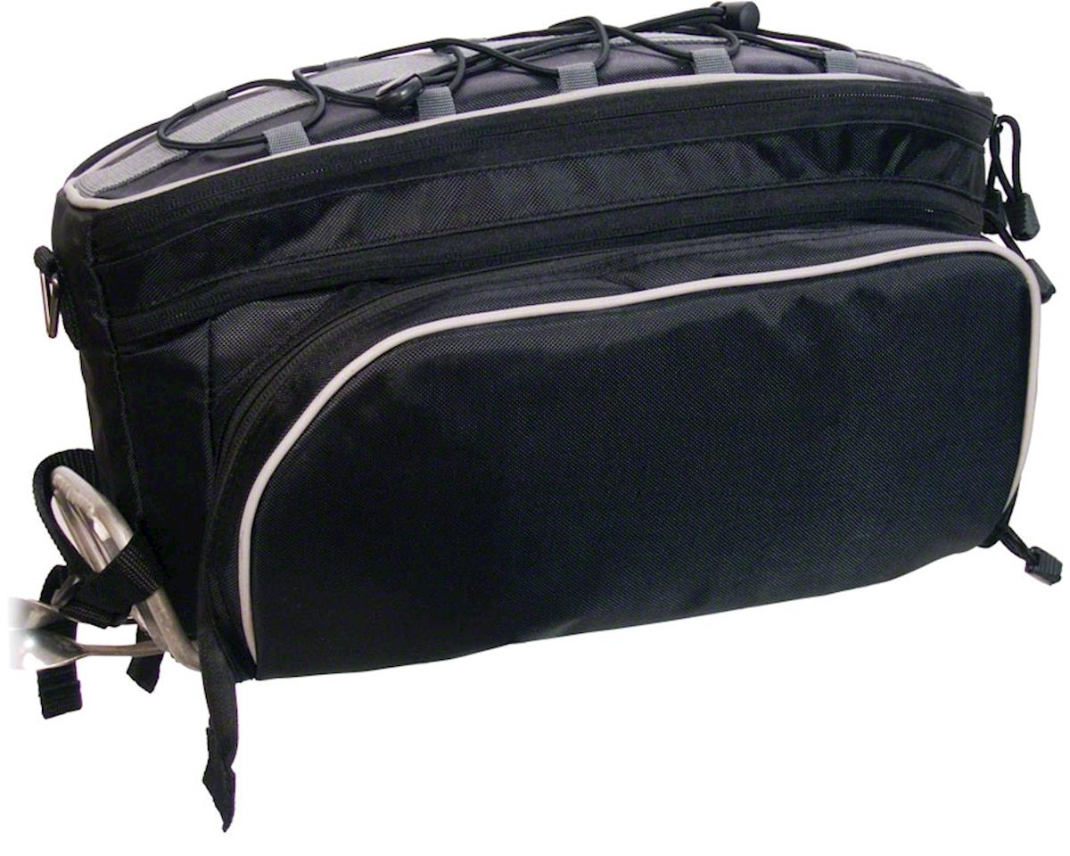 Banjo Brothers Rack Top Pannier Bag (Black) | alsopurchased