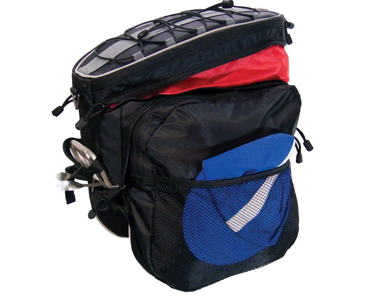 Banjo Brothers Rack Top Pannier Bag: Black