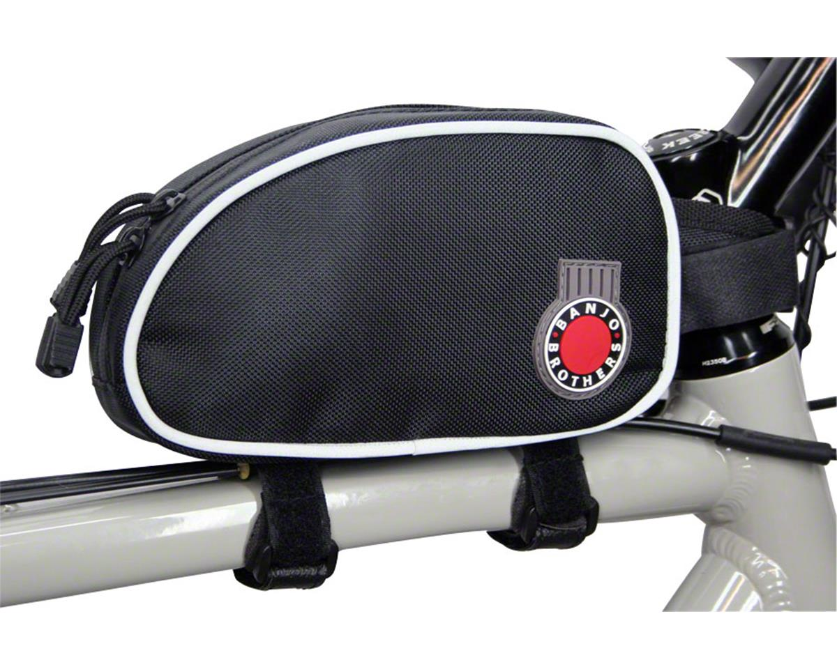Banjo Brothers Top Tube Bag: Black, LG