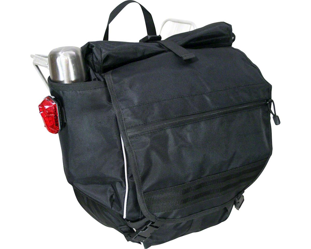 Banjo Brothers Waterproof Backpack Pannier (Black)