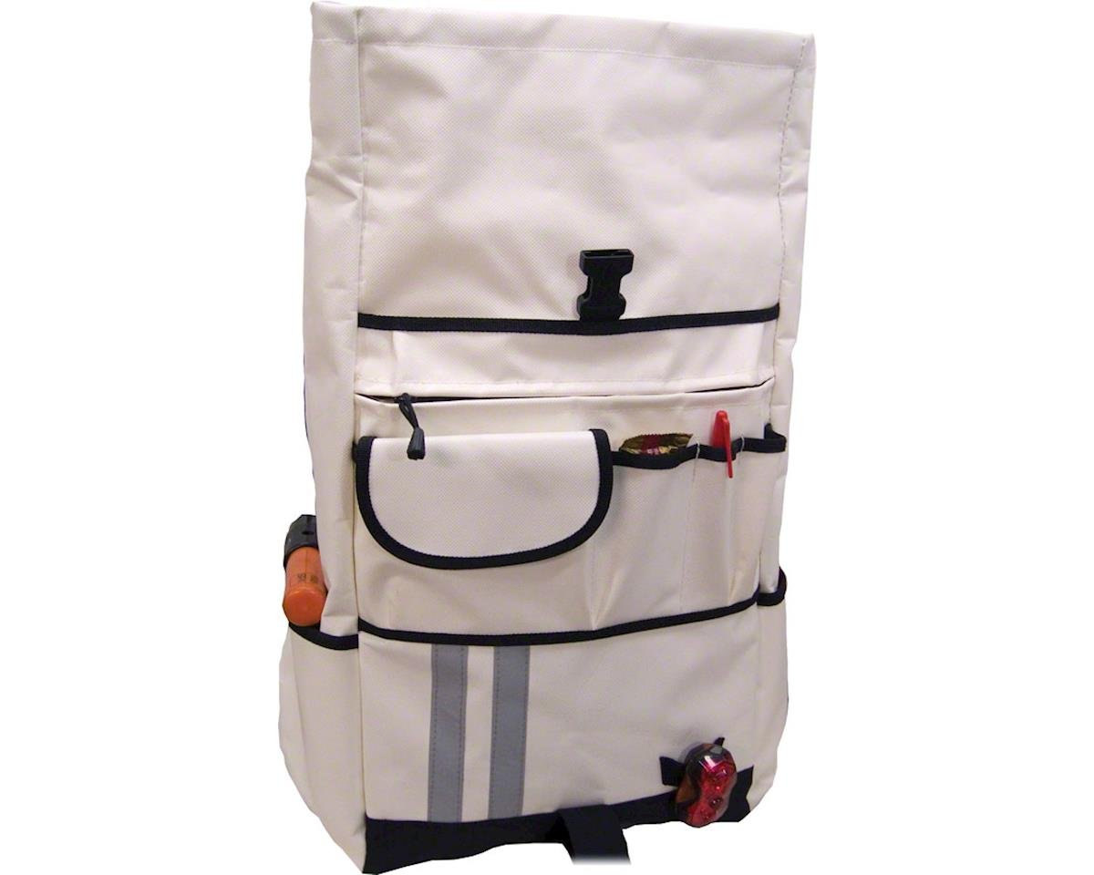 Banjo Brothers Commuter Backpack: LG, White (L)