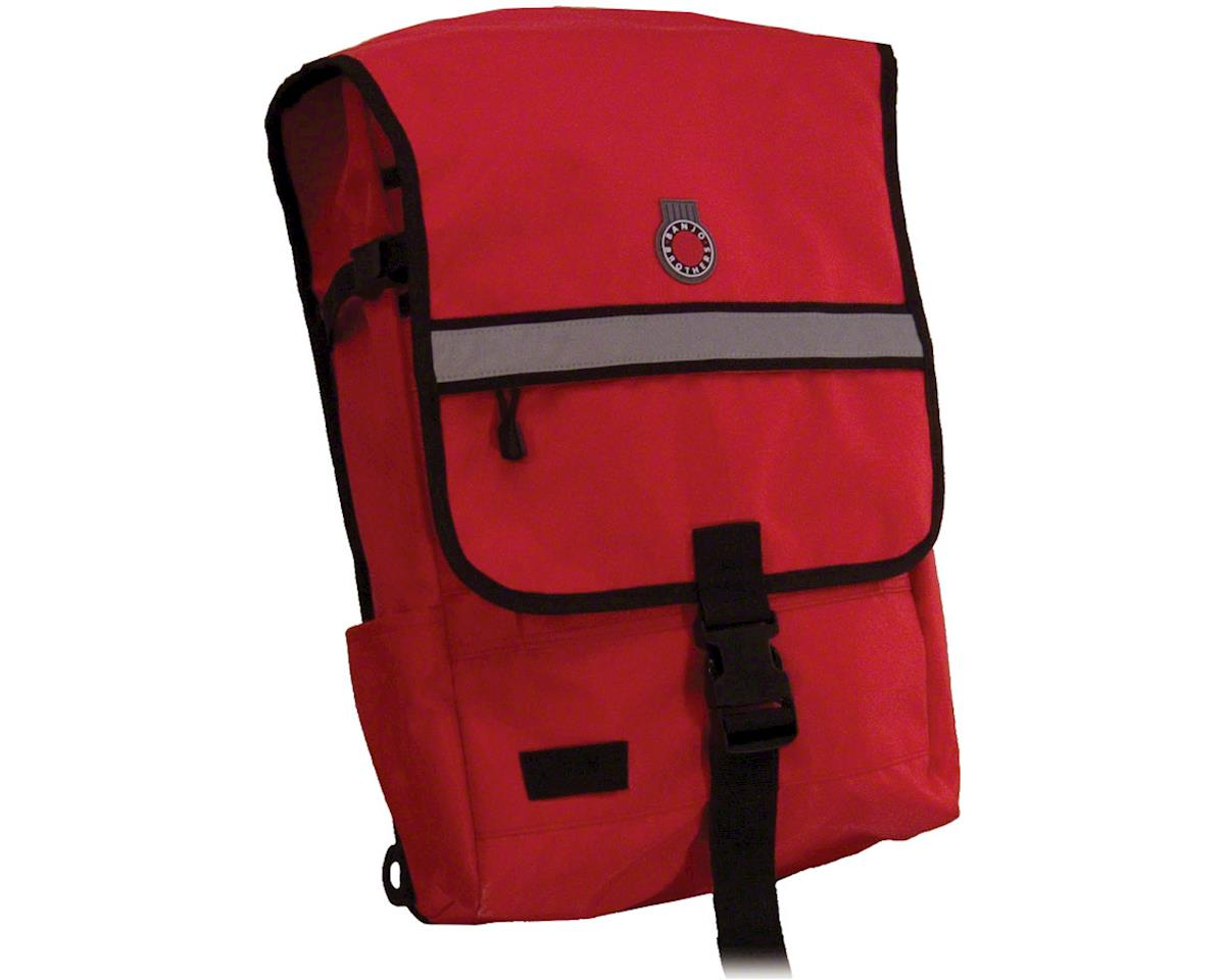 Banjo Brothers Metro Backpack: Red