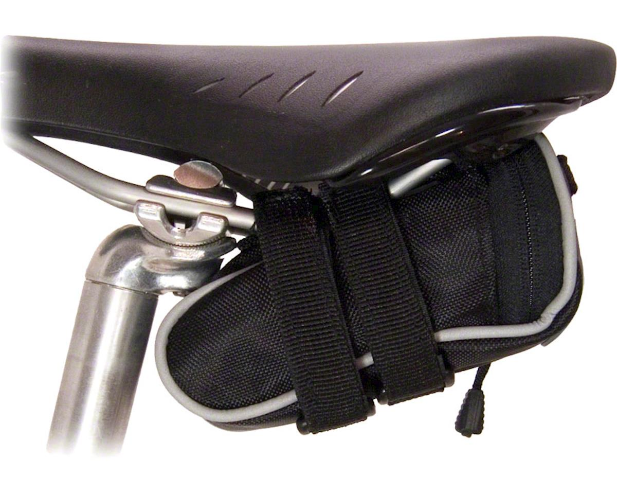 Banjo Brothers Seat Bag Deluxe: Mini, Black