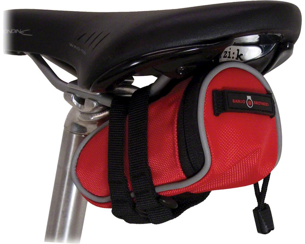 Banjo Brothers Seat Bag Deluxe: Mini, Red