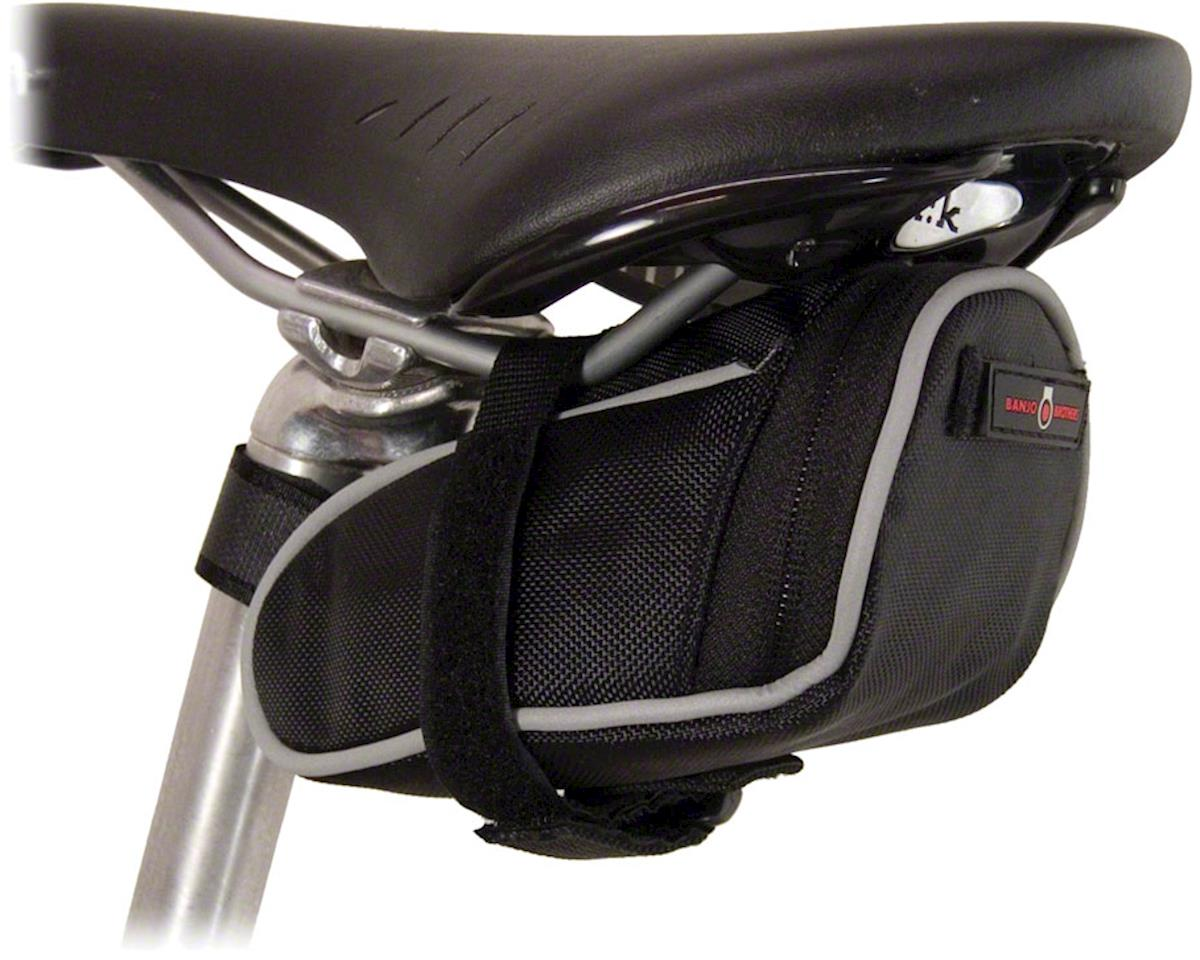 Banjo Brothers Saddle Bag Deluxe (Black) (S)