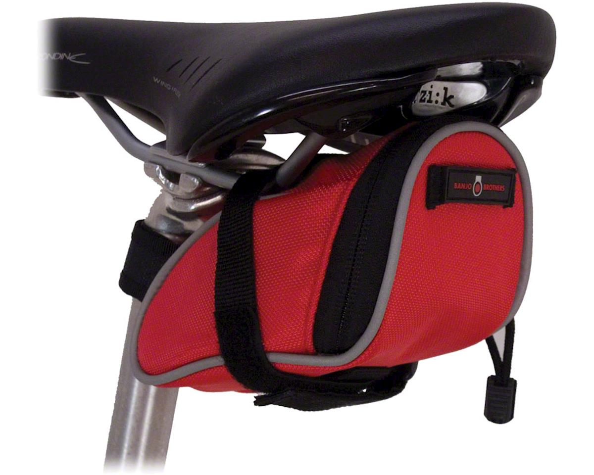 Banjo Brothers Seat Bag Deluxe: SM, Red