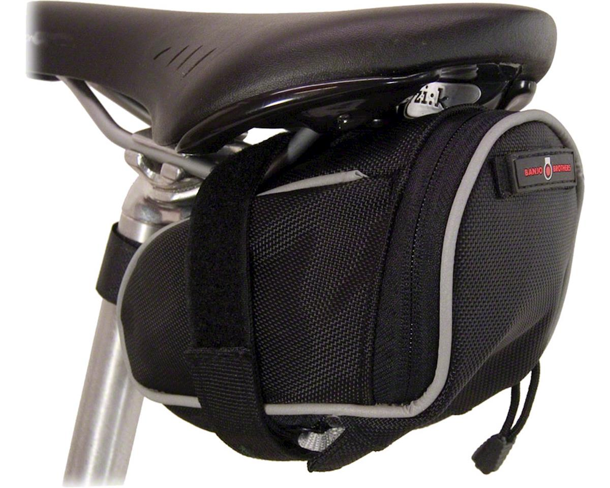 Banjo Brothers Seat Bag Deluxe (Black) (MD)