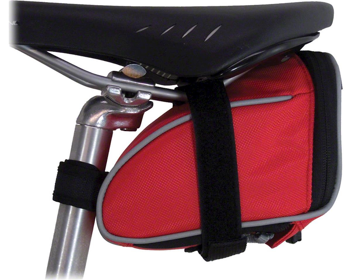 Banjo Brothers Seat Bag Deluxe: MD, Red