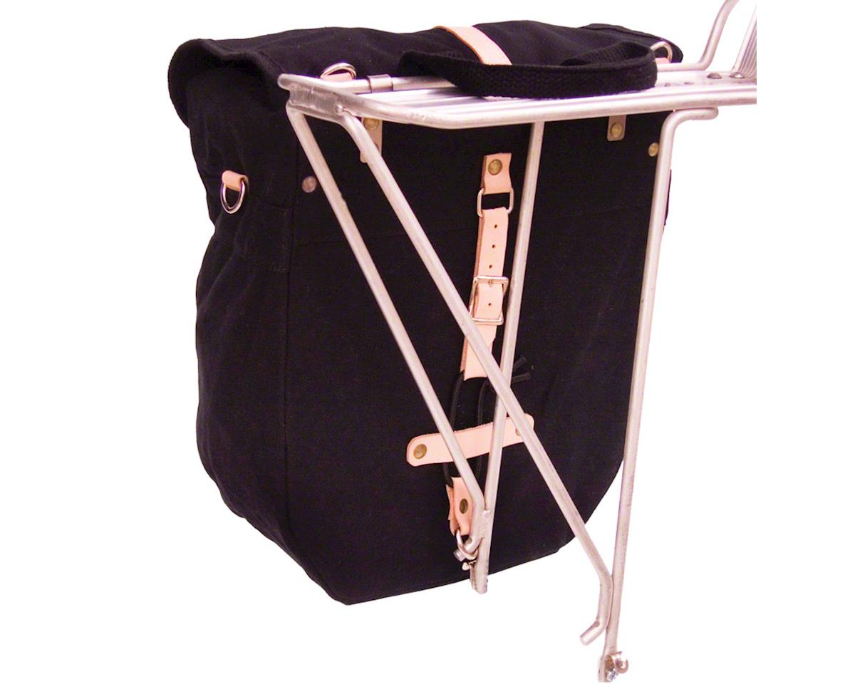 Banjo Brothers Minnehaha Canvas Utility Pannier: Black, Each