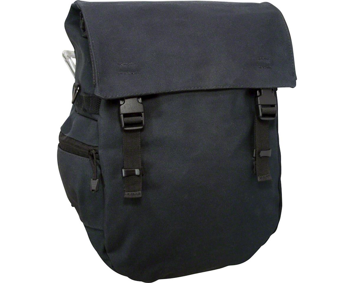 Banjo Brothers Minnehaha Waterproof Canvas Pannier (Black)